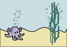 Free Violet Octopus Stock Photos - 7751613
