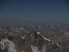 Tien-Shan Mountains Stock Photography