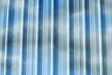 Corrugated Metal Wall Background Royalty Free Stock Photos