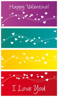 Free Happy Valentine And Banner Royalty Free Stock Photo - 7751775