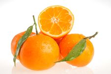 Free Juicy Oranges Royalty Free Stock Images - 7751929