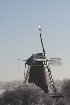 Free Millin In The Winter In The Netherlands Royalty Free Stock Photography - 7752597