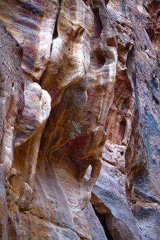 Free Petra Rocks Royalty Free Stock Photo - 7752635
