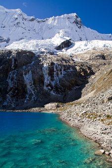 Free Blue Lake Panorama Stock Image - 7752871