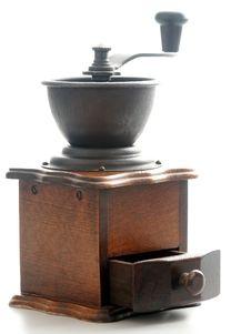 Free Coffee Grinder Stock Image - 7753201