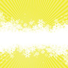 Free Background With Snowflakes. Vector Stock Photo - 7753380