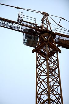 Free Tower Crane Royalty Free Stock Images - 7753749