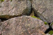 Free Aged Stone Wall Background Royalty Free Stock Photography - 7754517