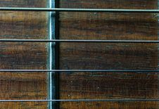 Free Guitar Fretboard Close-up Stock Image - 7754681