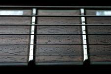 Free Guitar Fretboard Close-up Royalty Free Stock Image - 7754736