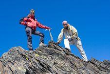 Free Hiker Stock Image - 7755241