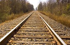 Free Rails Away Royalty Free Stock Images - 7757729