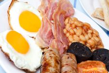 Free Traditional Full English Breakfast Royalty Free Stock Image - 7758336