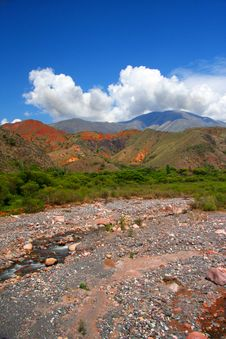 Free Amazing Argentina Landscape In Summer Day Stock Image - 7758361