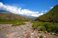 Free Amazing Argentina Landscape In Summer Day Royalty Free Stock Photography - 7758387
