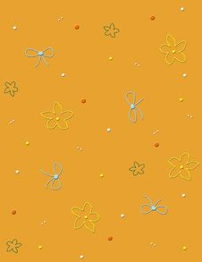 Free Seamless Pattern With Flowers Royalty Free Stock Images - 7758499
