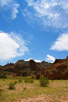 Free Amazing Argentina Landscape In Summe Royalty Free Stock Photography - 7758617