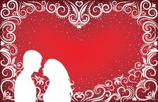 Valentine Background2. Royalty Free Stock Photography