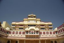 City Palace In Jaipur, Rajasthan Stock Image
