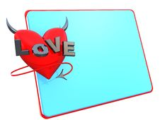 Free Love Frame Royalty Free Stock Images - 7759889