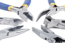 Free Close-up Many Pliers Royalty Free Stock Image - 7759896