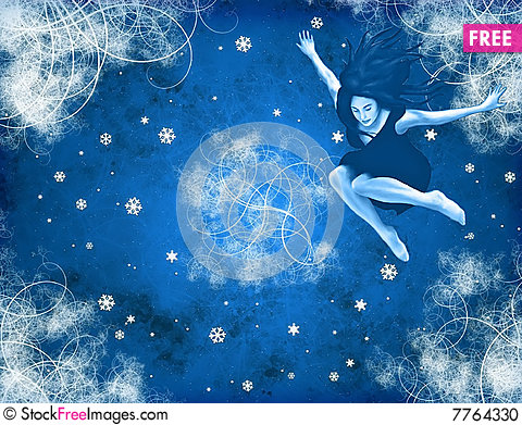 Snowqueen Stock Photo