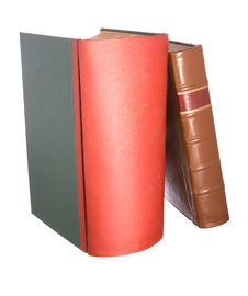 Free Old Leather Bound Books Royalty Free Stock Photos - 7760788