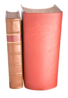 Free Old Leather Bound Books Royalty Free Stock Photos - 7760798