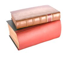 Free Old Leather Bound Books Royalty Free Stock Images - 7760849