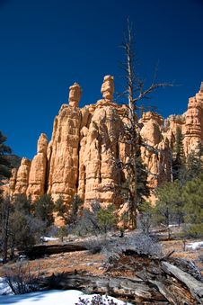 Free Red Rock Canyon Hoodoos Royalty Free Stock Photography - 7761037