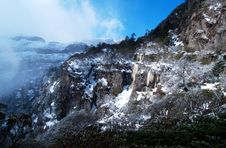 Free Snow Mountain Scenery In Mianning Stock Photography - 7761052