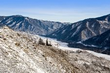 Free Chiki-Tamansky Mountain Pass And Clear Sky Royalty Free Stock Images - 7761159