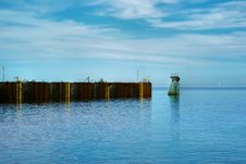Free Dock For Ferries In The St.Lawrence River Stock Image - 7761301