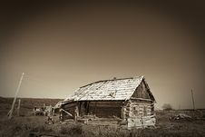 Free Desert Village (sepia) Stock Images - 7761364