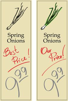 Free Spring Onions Royalty Free Stock Image - 7762376