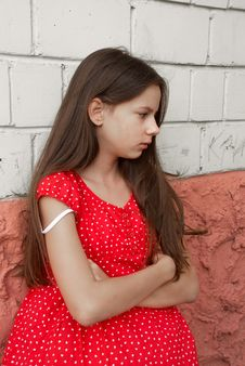 Free Sadness Girl Royalty Free Stock Images - 7762399