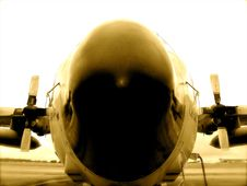 Free C-130 Airplane Belgian Army Stock Photography - 7762702