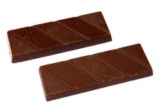 Free Two Bar Of Chocolate Stock Images - 7762974