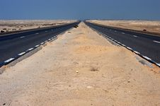 Free Desert Road Royalty Free Stock Image - 7763236