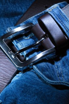 Free Jeans And Belt Royalty Free Stock Image - 7763716