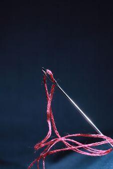 Free Needle And Thread Stock Photo - 7763730