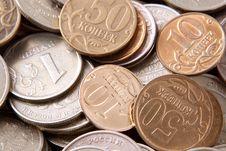 Free Fine Coins Royalty Free Stock Photos - 7764128