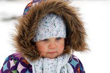 Free Winter Portrait Of Girl Stock Photos - 7764133