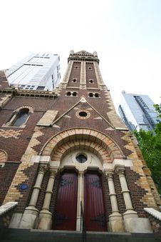 Free St. Patrick's Cathedral, Australia Stock Image - 7764331