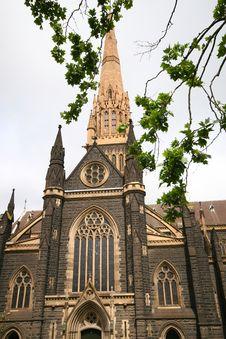 Free St. Patrick's Cathedral, Australia Stock Image - 7764611