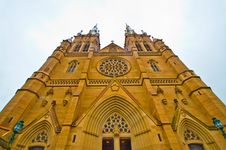 Free St. Patrick's Cathedral, Australia Stock Images - 7764724