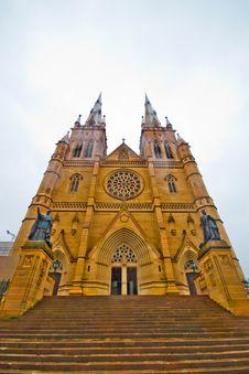 Free St. Patrick's Cathedral, Australia Stock Image - 7764771