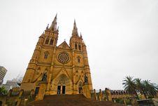 Free St. Patrick's Cathedral, Australia Stock Photo - 7764860