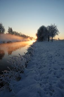 Free Winter Morning 1 Royalty Free Stock Photo - 7764885