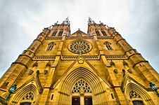 Free St. Patrick's Cathedral, Australia Royalty Free Stock Images - 7764889